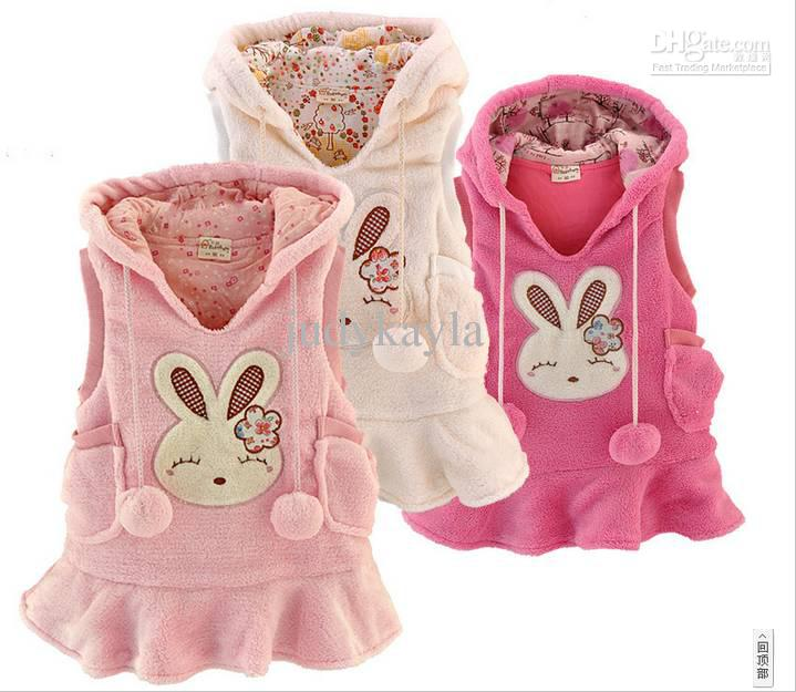 cute rabbit baby clothes girl 2015
