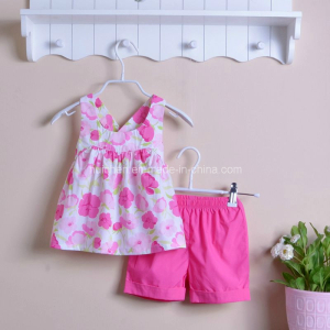 Flowery Baby Clothing For Girls