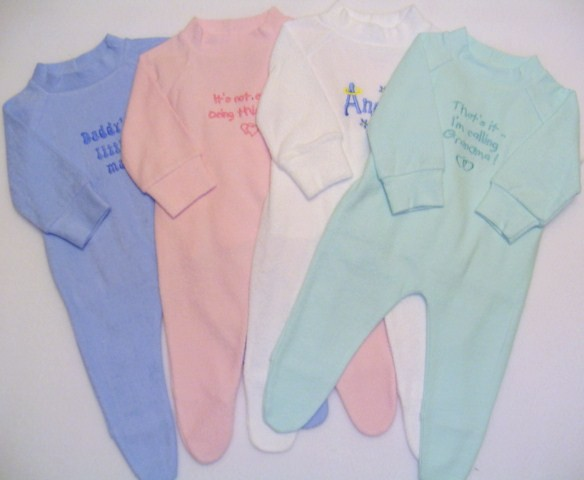 Colorful Baby Grows