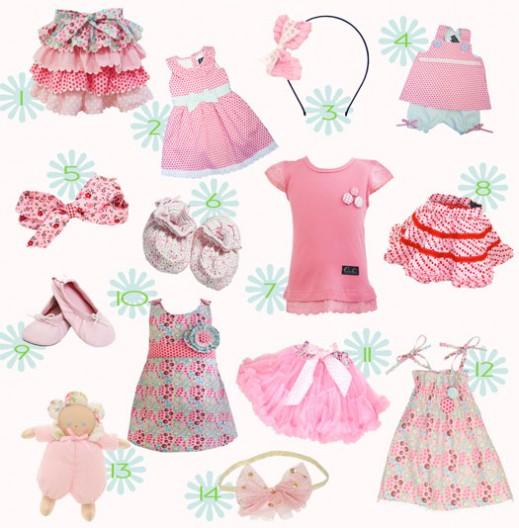 Varieties of Babyclothes