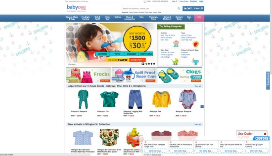 Simple Online Baby Clothes Shopping