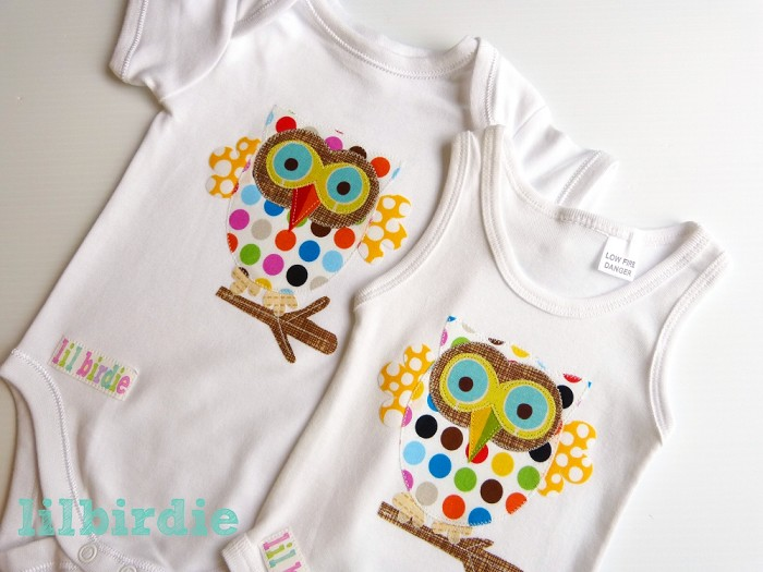 Cute Owl Unisex Baby Clothes