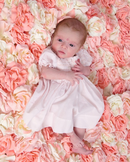 Roses Baby Coming Home Outfit