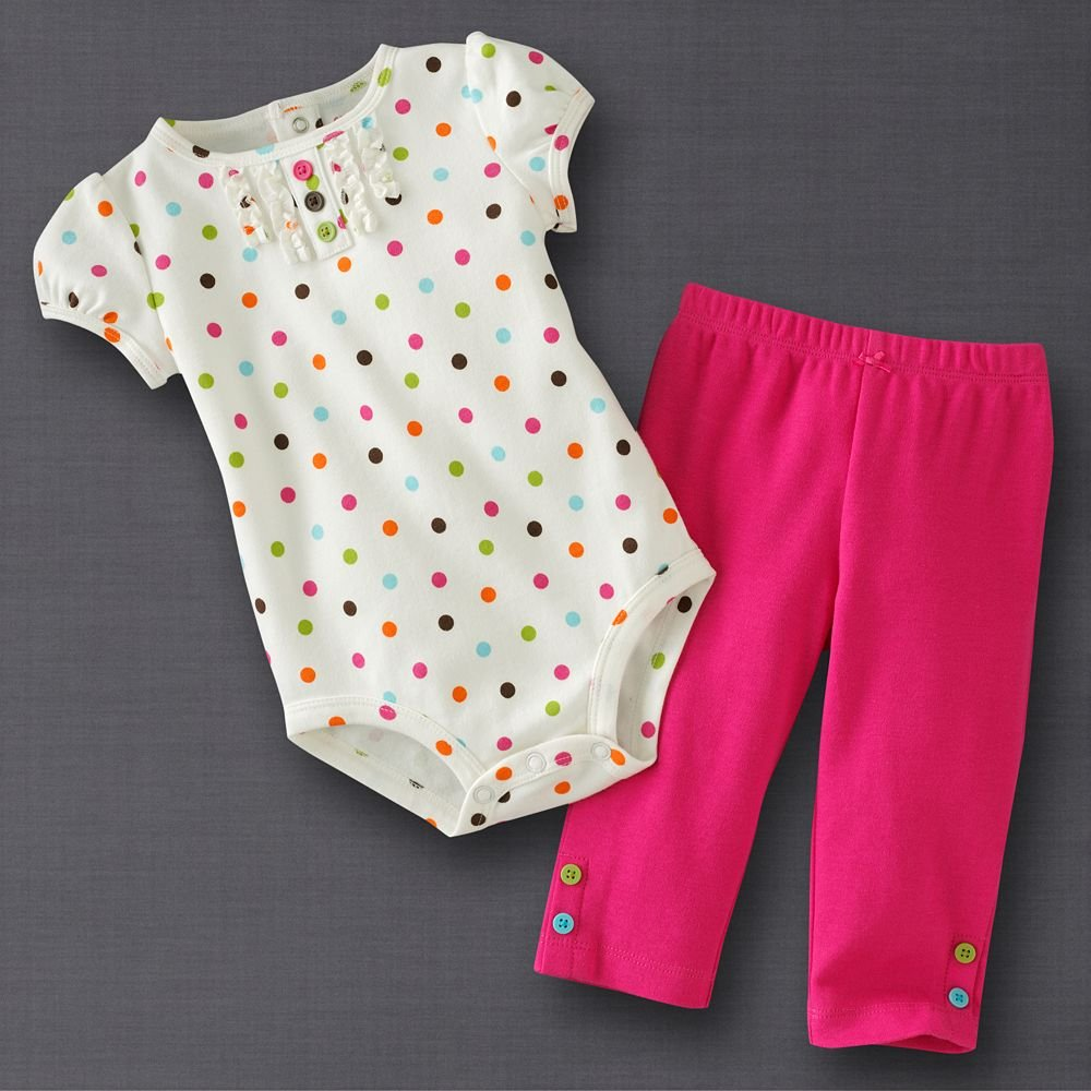 Dots Baby Outfits