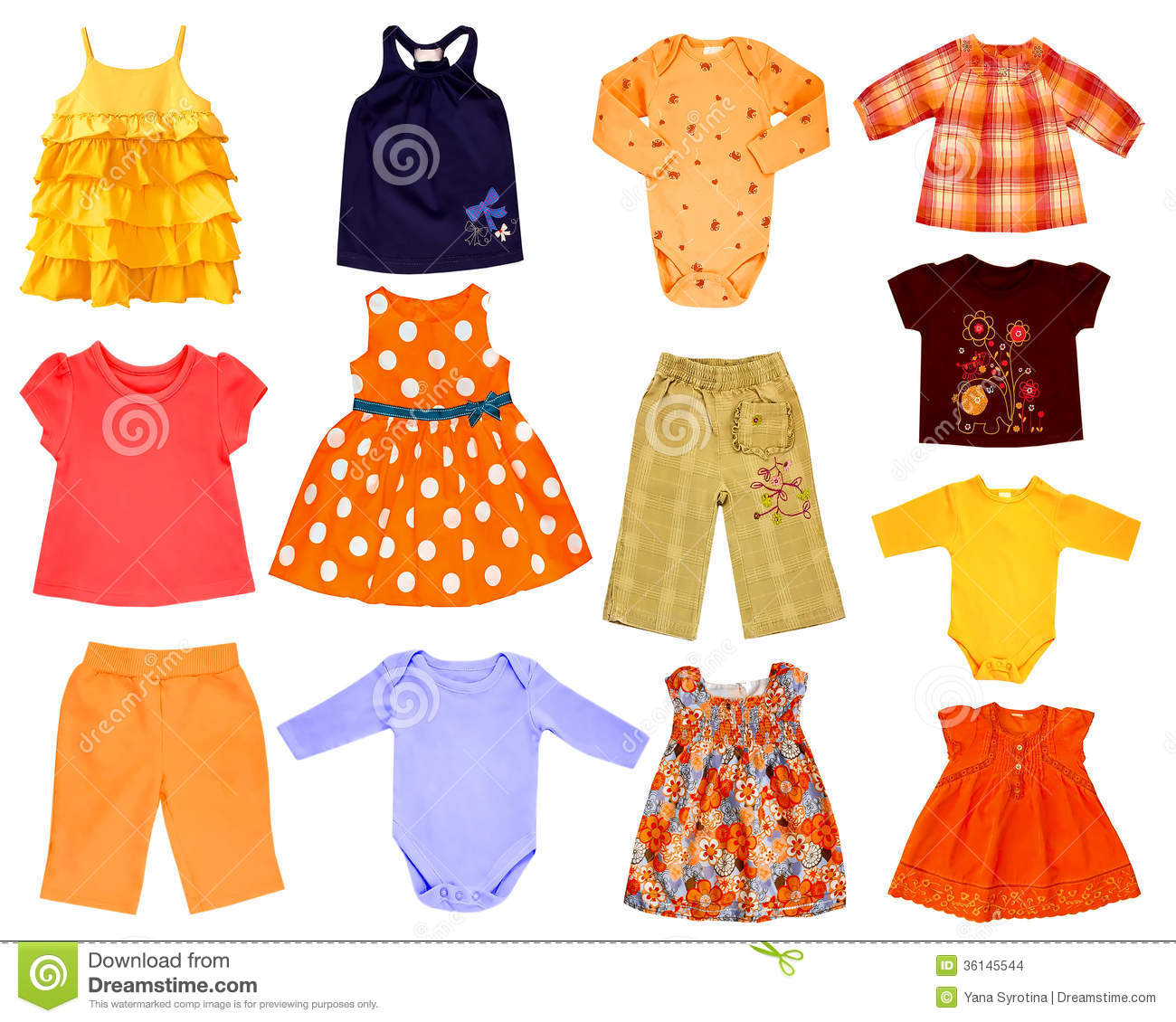 Bright color Clothing Children