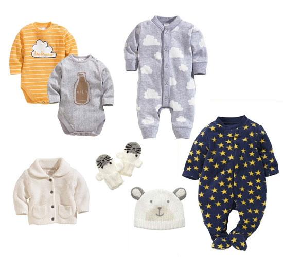 Various Clothing For Newborns