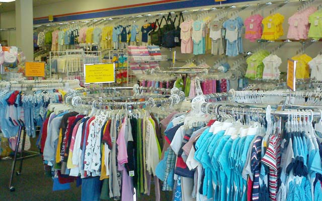 Kids clothing store. Clothes stores