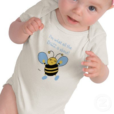 Bee Cute Infant Clothing