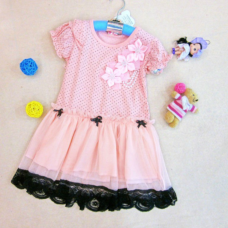 Dress with Free Kids Clothes
