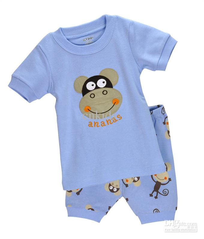 Monkey Infant Clothes For Boys