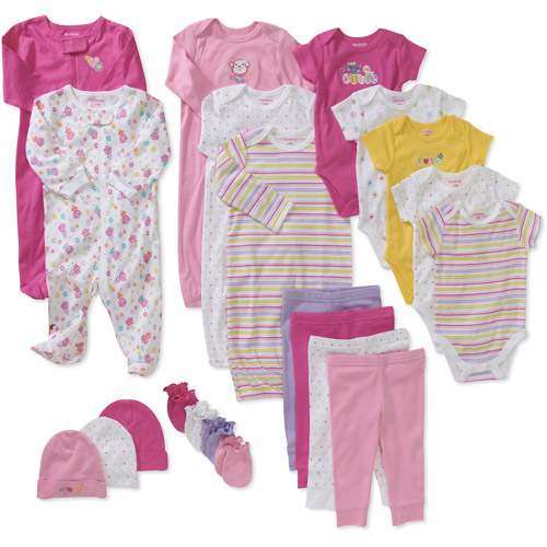 Colorful Infant Girls Clothing