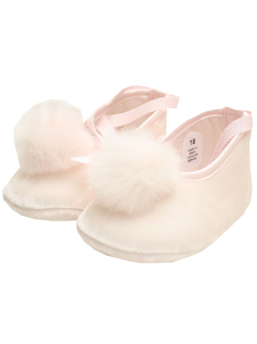 Fluffy Newborn Baby Shoes