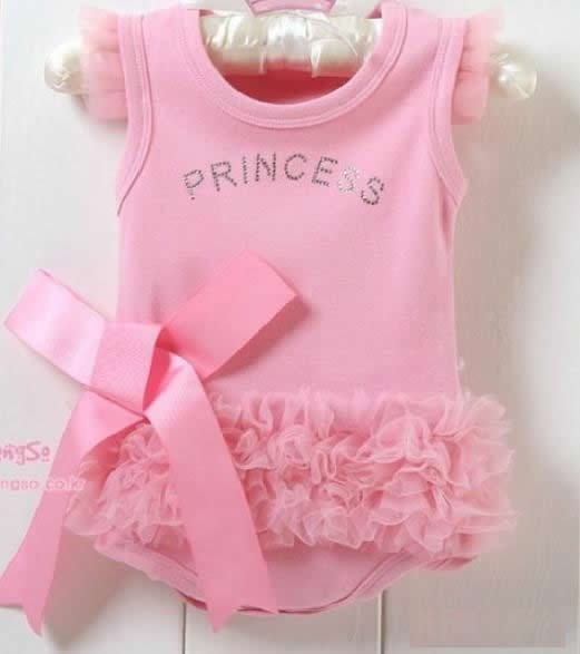 Prince with Ribbon Newborn Girls Clothes