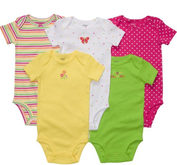 Colorful Toddler Clothes