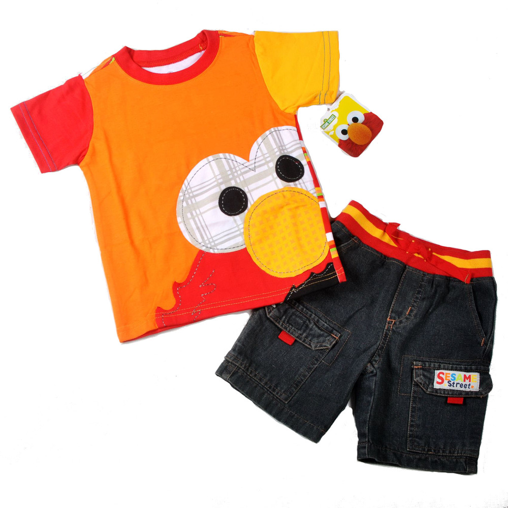Sesame Street Toddler Clothing