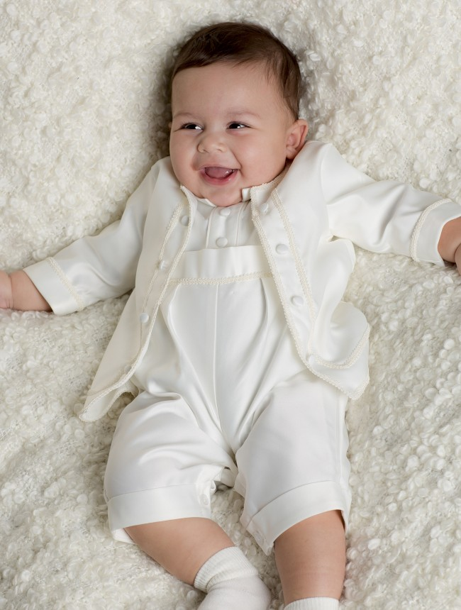 Baby Boys' Christening Clothing. Nothing is sweeter than seeing your little guy all dressed up for his christening. At Amazon, we've made it easy for you to find a portrait-worthy outfit for your little one for this very important day.
