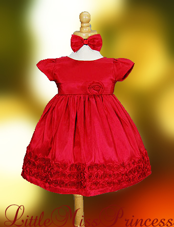 Dots baby girl christmas dresses christmas dresses for babies red