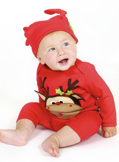 Red Baby Christmas Outfits