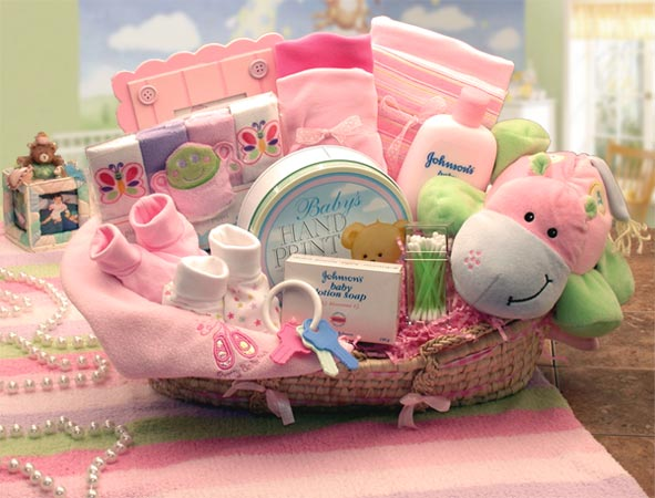 Pink Baby Gift