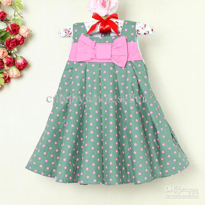 Green Baby Girl Dresses 2015