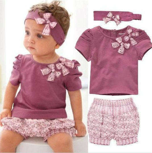 Lovely Baby Girl Outfits