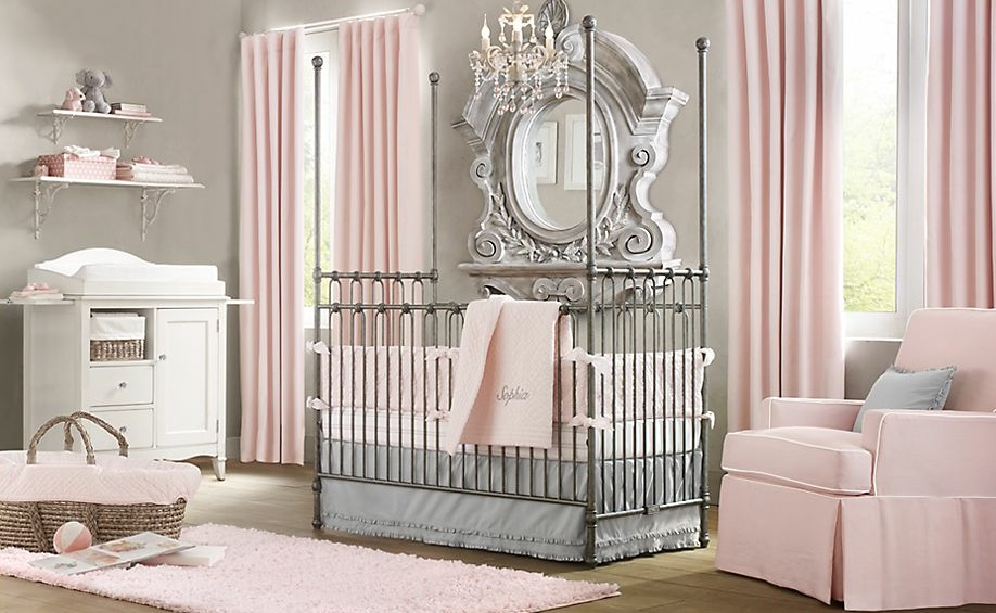 Elegant Baby Nursery Decor
