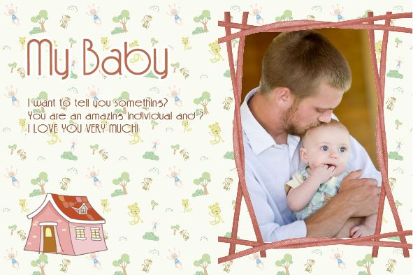 House Baby Photo Albums