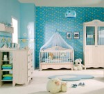 Blue Baby Room Decorations