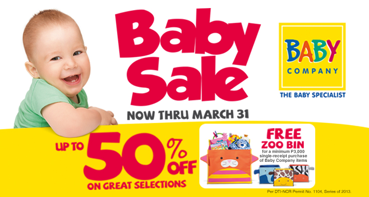 50%! Baby Sale