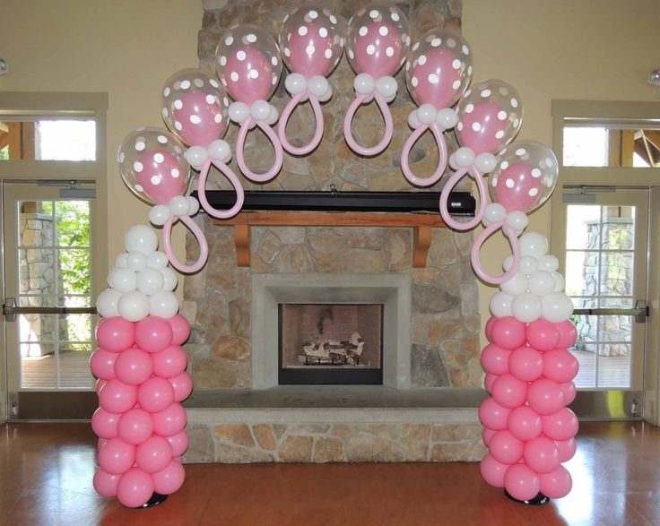 Wonderful Baby Shower Balloons