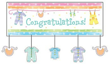 Easy Baby Shower Banners