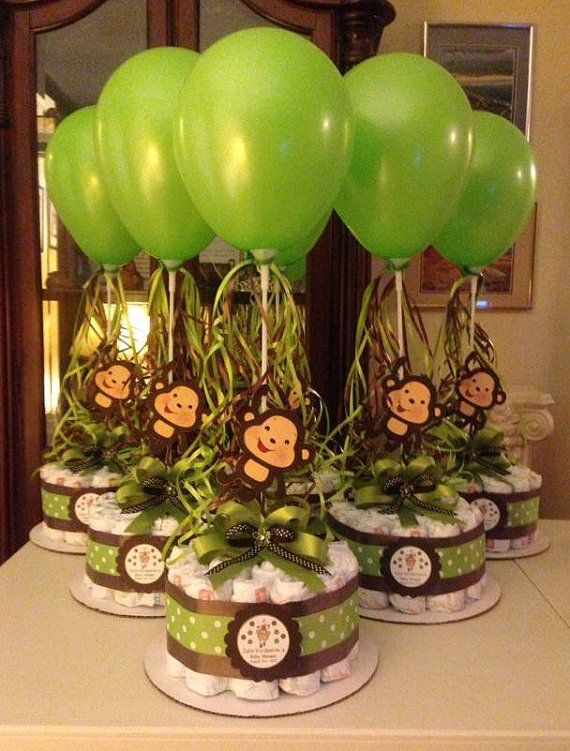 Balloon Baby Shower Centerpieces