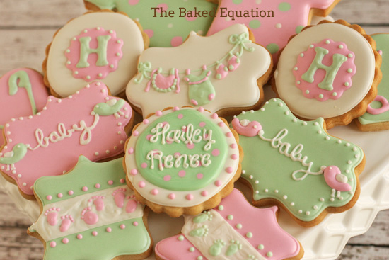 Tasty Baby Shower Cookies