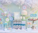 Colorful Baby Shower Decoration