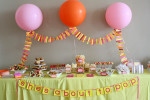 Balloon Baby Shower Decoration Ideas