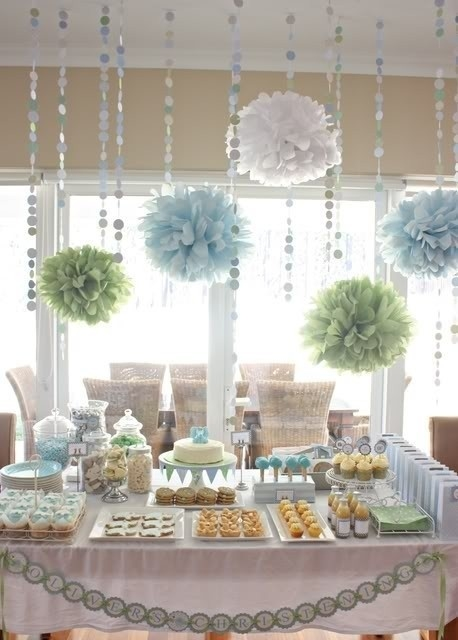 Fresh Baby Shower Decorations