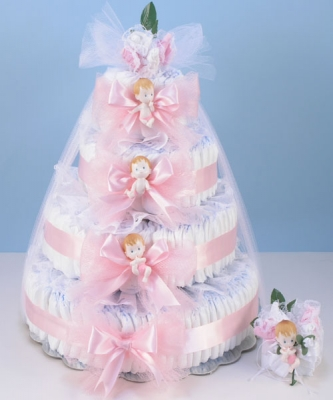 Cake Baby Shower Ideas For Girls