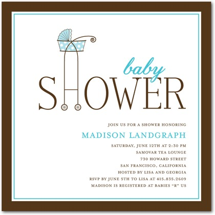 Simple Baby Shower Invitation Ideas