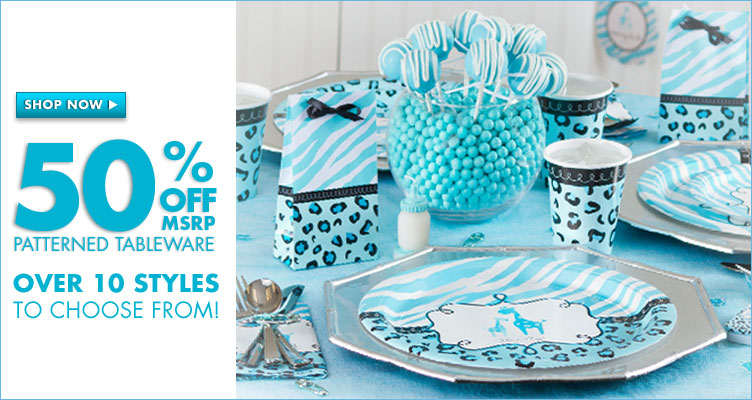 Ravishing Baby Shower Tableware