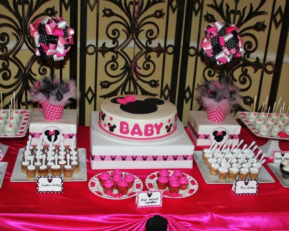 Pink Baby Shower Themes For Girls 2015