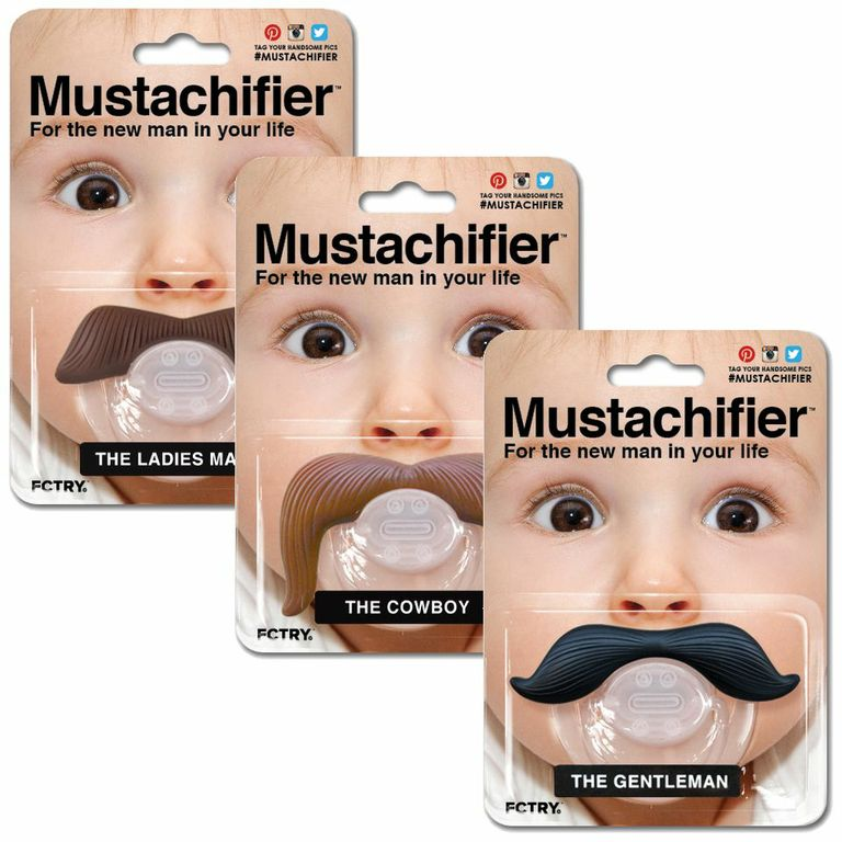 Mustache Cool Baby Gifts