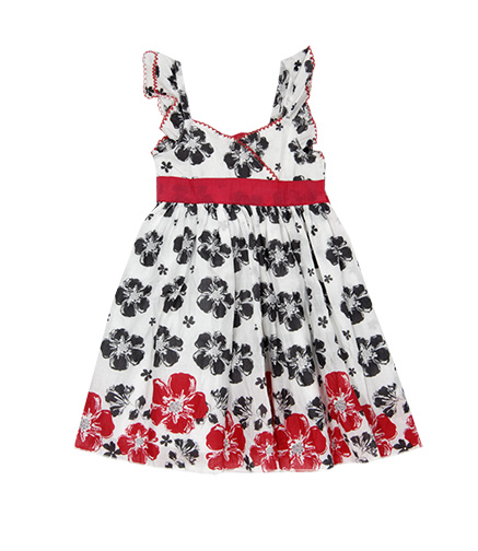 Flowery Girls Baby Clothes