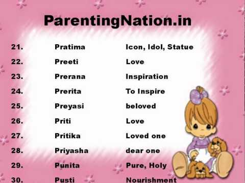 Meanings Of Baby Names