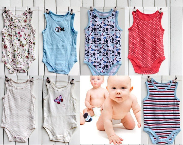 Various Organic Baby Clothing