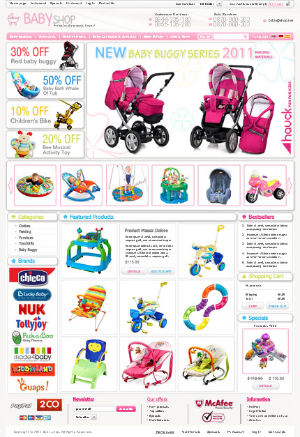 Cheap Baby Online Store