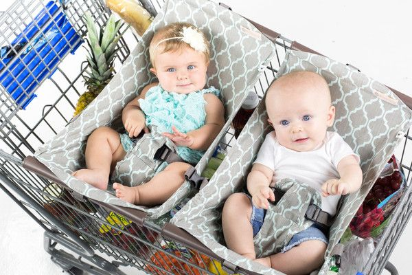 Twin Infant Shopping