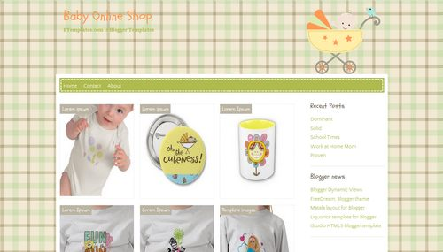 Simple Online Baby Shopping