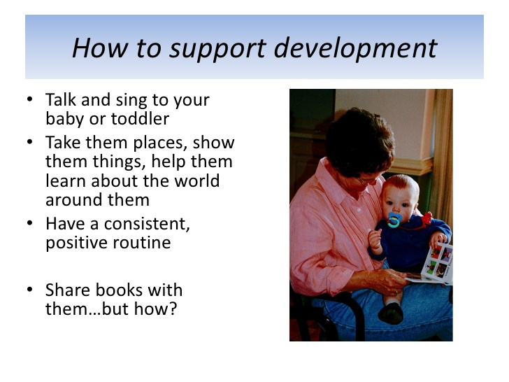 Support Toddlers Development