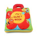 Kocome Baby Kids Intelligence development Cloth Bed Cognize Book Flower Educational Toy