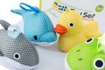 Bath Toys – Soft, Safe & Educational for Baby & Toddlers – Best Set for Kids of All Ages – Interactive Play & Games for Boys and Girls – Use In or Out of Tub – BONUS Case & Mesh Net Organizer Bag for Storage & Drying – Easy to Clean, Without Holes – NO Mold – Satisfaction Guaranteed!